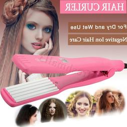 Women Professional Hair Curling Crimper Iron Curl Anion Wave